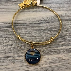 Alex and Ani Simplify bracelet.